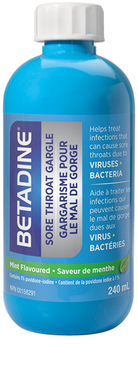 BETADINE® Sore Throat Gargle