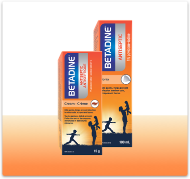BETADINE® First Aid