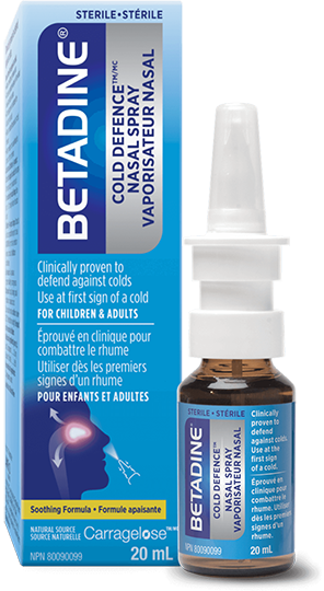 BETADINE® Cold Defence Nasal Spray